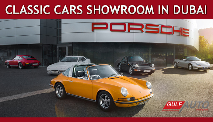 Porsche to Open a Classic Cars Showroom in Dubai!