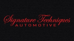 Signature Techniques  Automotive