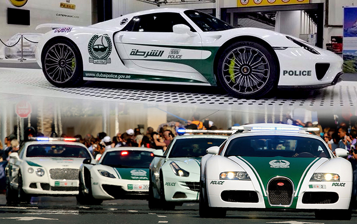 Dubai Police Adds Porsche 918 Spyder to its Fleet