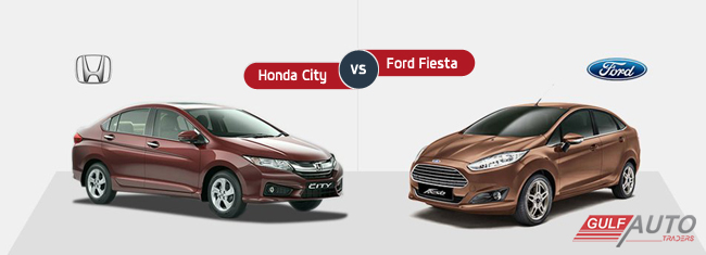 Comparison between Honda City and Ford Fiesta